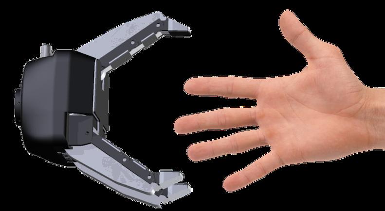 poignée main humain robot