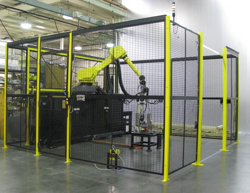 Enceinte robot