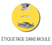 Étiquetage dans le moule (icone)
