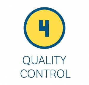 Contrôle qualité (étape 4)